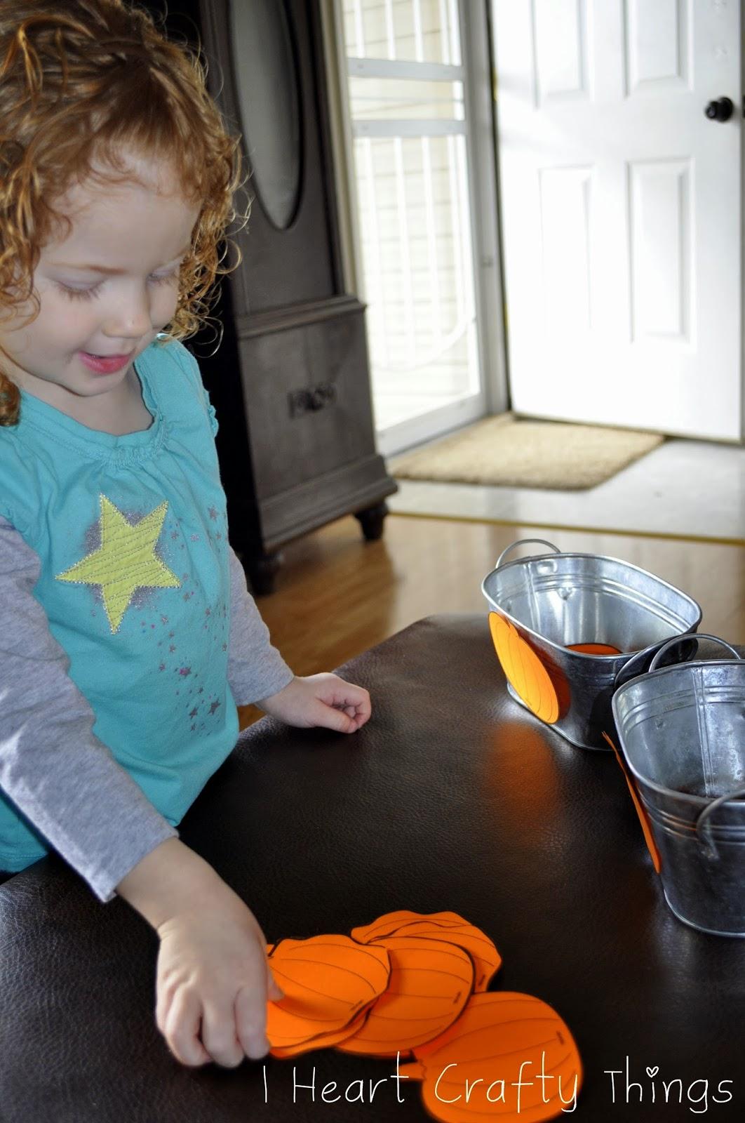 Plumply Dumply Pumpkin Pumpkin Hunt And Sorting Activity