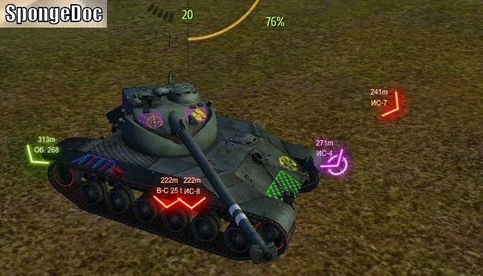 Hitzone mod world of tanks