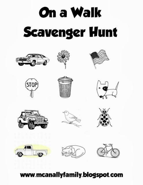 Momfessionals: Fall Fun... Scavenger Hunt