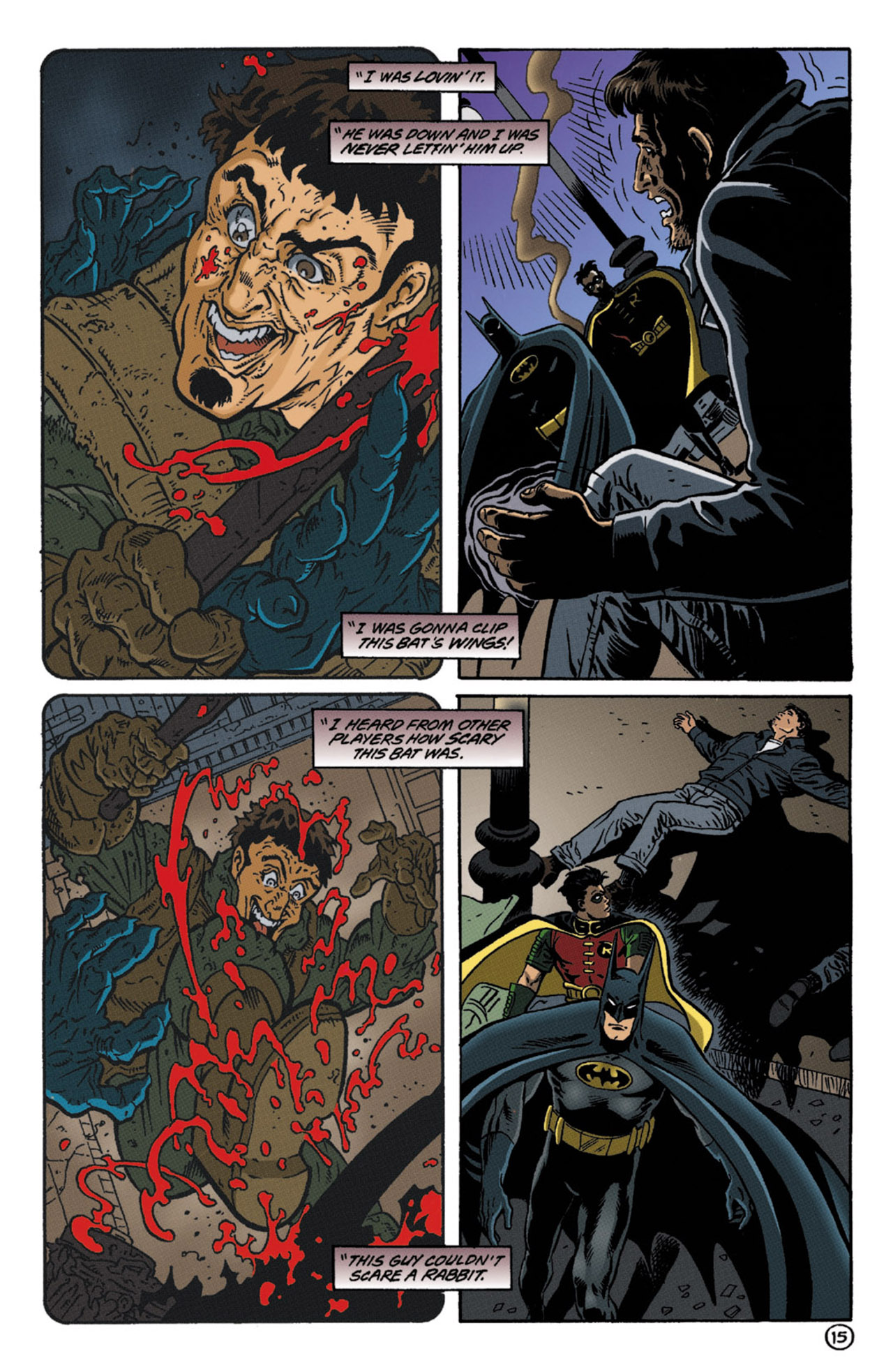Detective Comics (1937) 719 Page 15