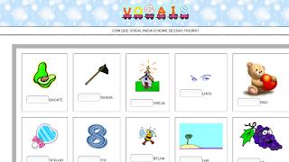 http://www.escolagabrielmiranda.com.br/hotpot/1ano/alfabetizacao/vogais/lacvog.htm