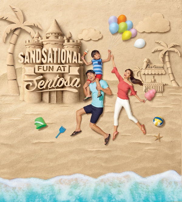 south east asia biggest sand festival sentosa sandsational