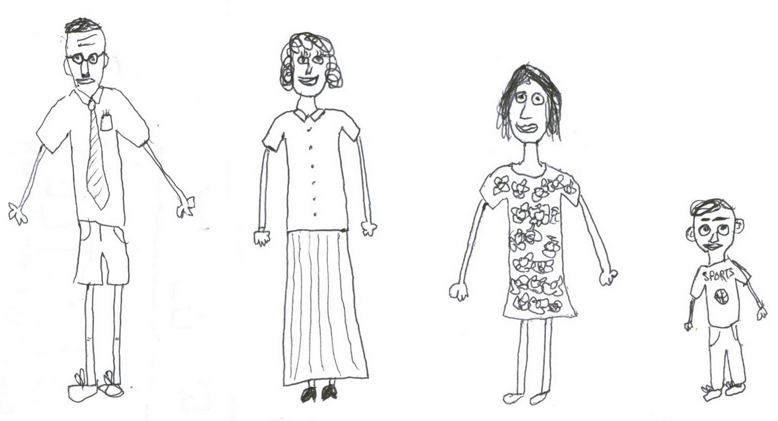 NEW LOVE STORIES: Family (Sketch)