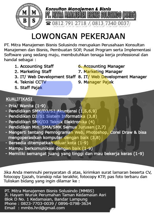 Image Result For Lowongan Accounting Accounting