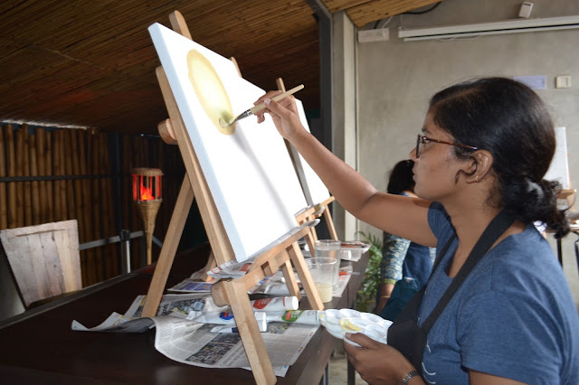 Popular artist Jyoti Rawat will conduct the live painting event on 11th February