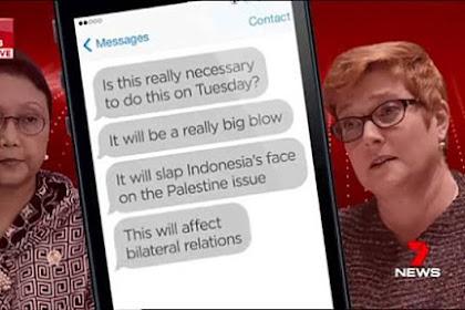 """HEBOH! """"Bocor"""" Pesan WA Menlu Retno dengan Menlu Australia, Jubir Kemenlu Beri Klarifikasi"""