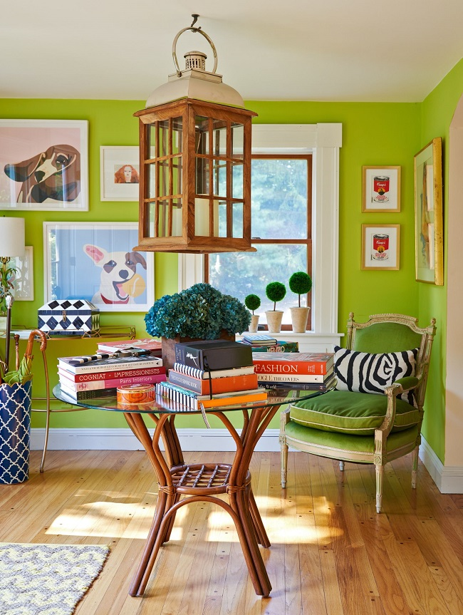 Inside Christian Siriano's bright and colorful Connecticut home!