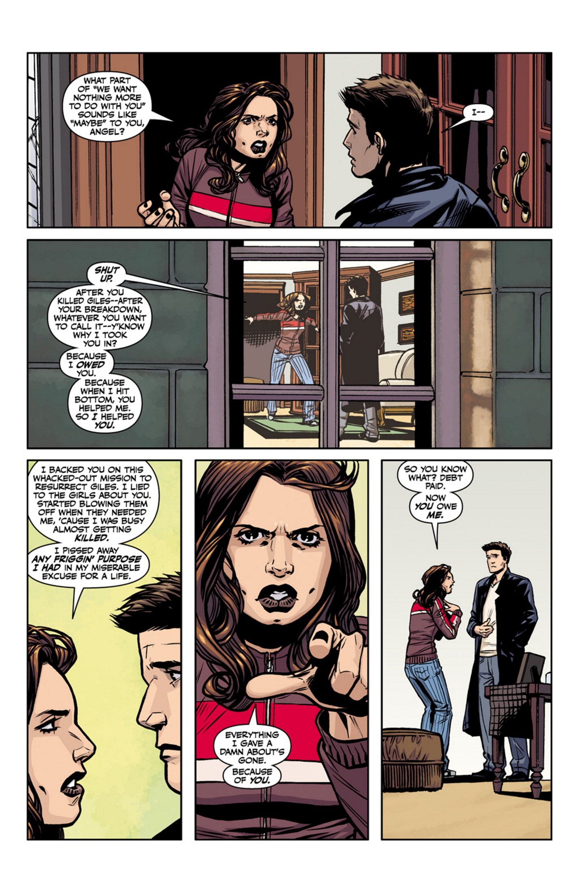 Read online Angel and Faith comic -  Issue #17 - 8