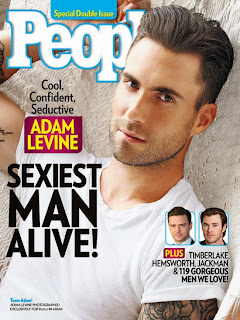 American singer-songwriter and musician is People's Sexiest Man Alive in 2013