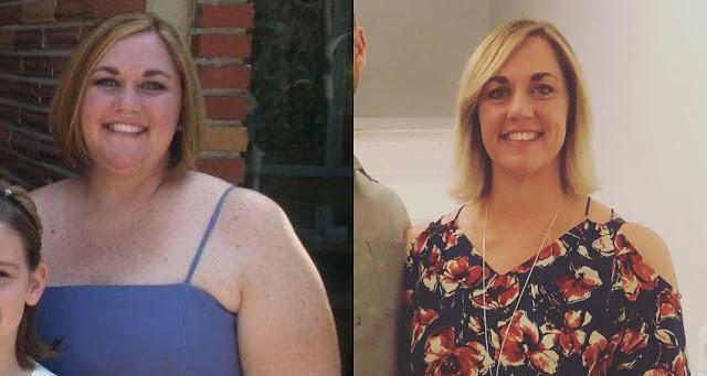 Μητέρα τριών παιδιών κατάφερε να χάσει 65 κιλά