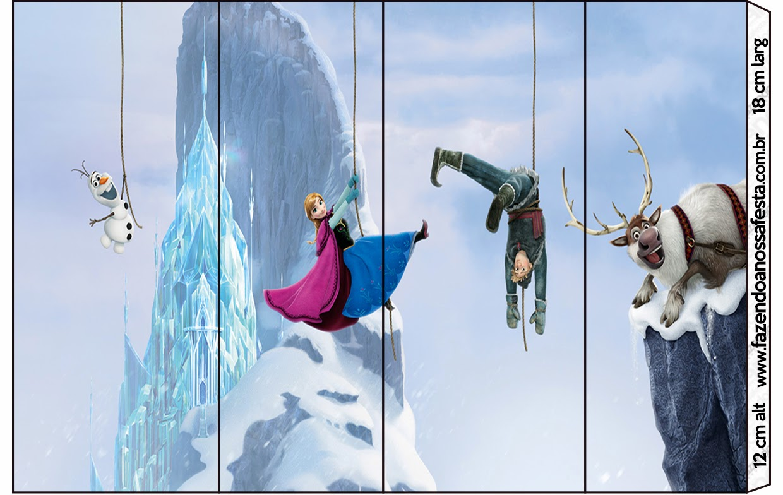 Frozen: Etiquetas para Candy Bar, para Imprimir Gratis. | Ideas y ...