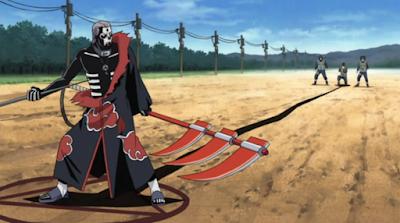 Hidan anggota Akatsuki paling lemah
