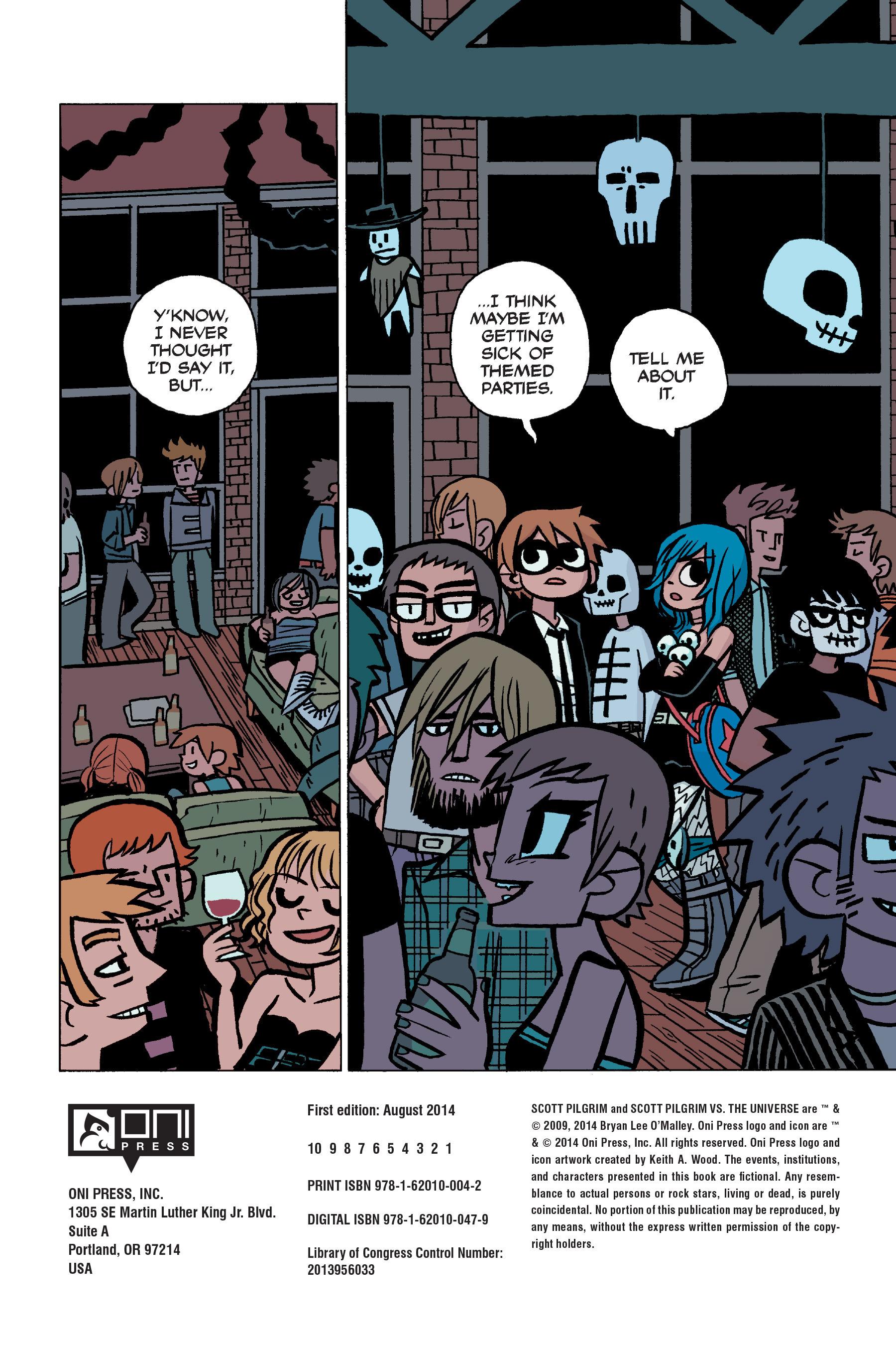 Read online Scott Pilgrim comic -  Issue #5 - 8