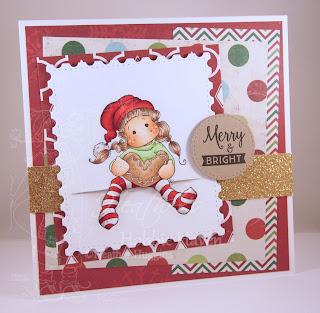 Heather's Hobbie Haven - Crunching Tilda Card Kit