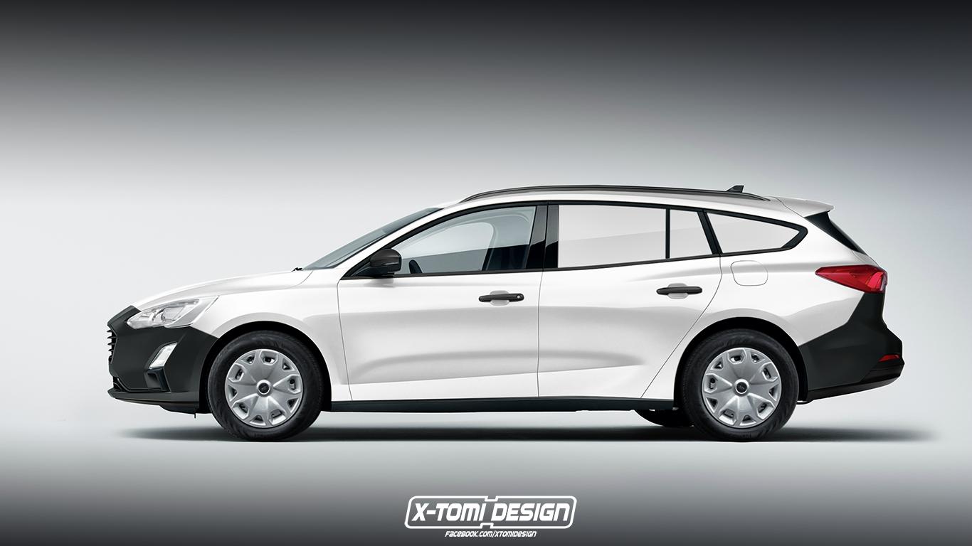 X Tomi Design Ford Focus Turnier Van