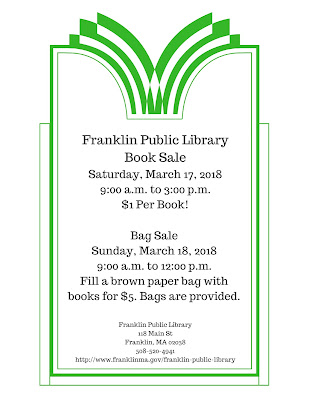 Franklin Public Library Book Sale - Mar 17-18