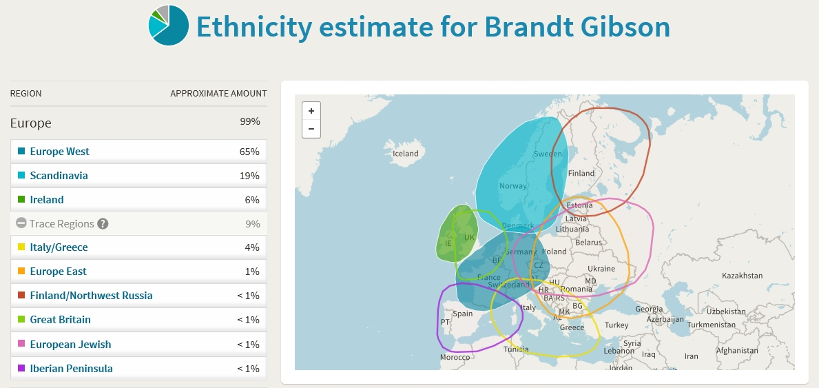 Brandt S Rants Genes Day Friday My Ancestrydna Results