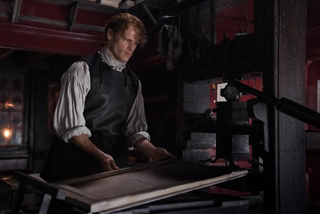 Jamie Fraser imprenta 306 outlander