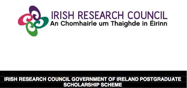 Government of Ireland Postgraduate Scholarship Scheme, 2017