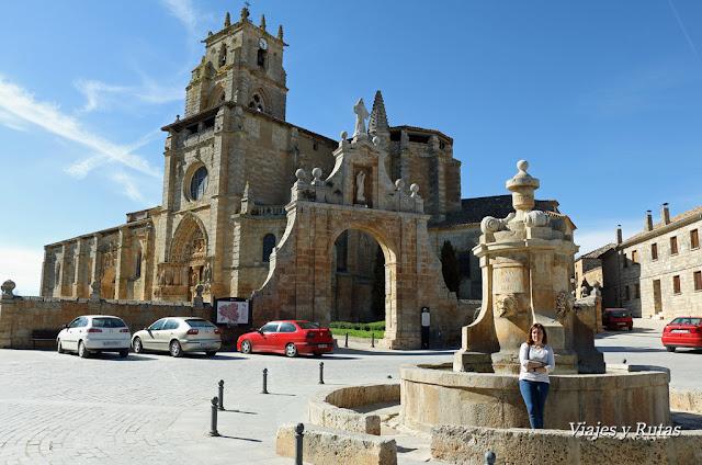 Plaza Mayor, Sasamón, Burgos