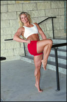 Female Bodybuilder Tina Chandler