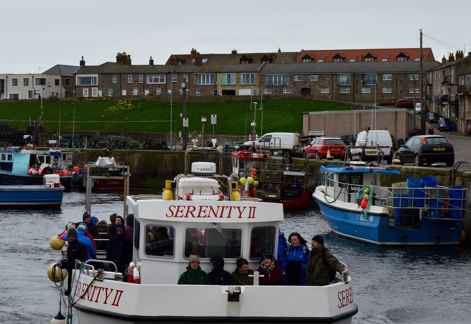 Farne Island Boat Trips with Serenity | A review and what to expect with kids - Serenity Boat II