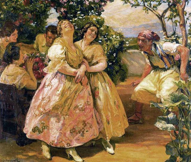 Valencianas pintadas jos mongrell torrent - Pintor valenciano ...