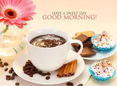 sweet good morning breakfast coffee image for whatsapp