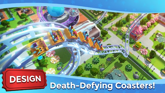 RollerCoaster Tycoon Touch Apk+Data Free on Android Game Download