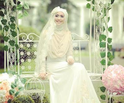 Gaun Pengantin Muslimah Terindah
