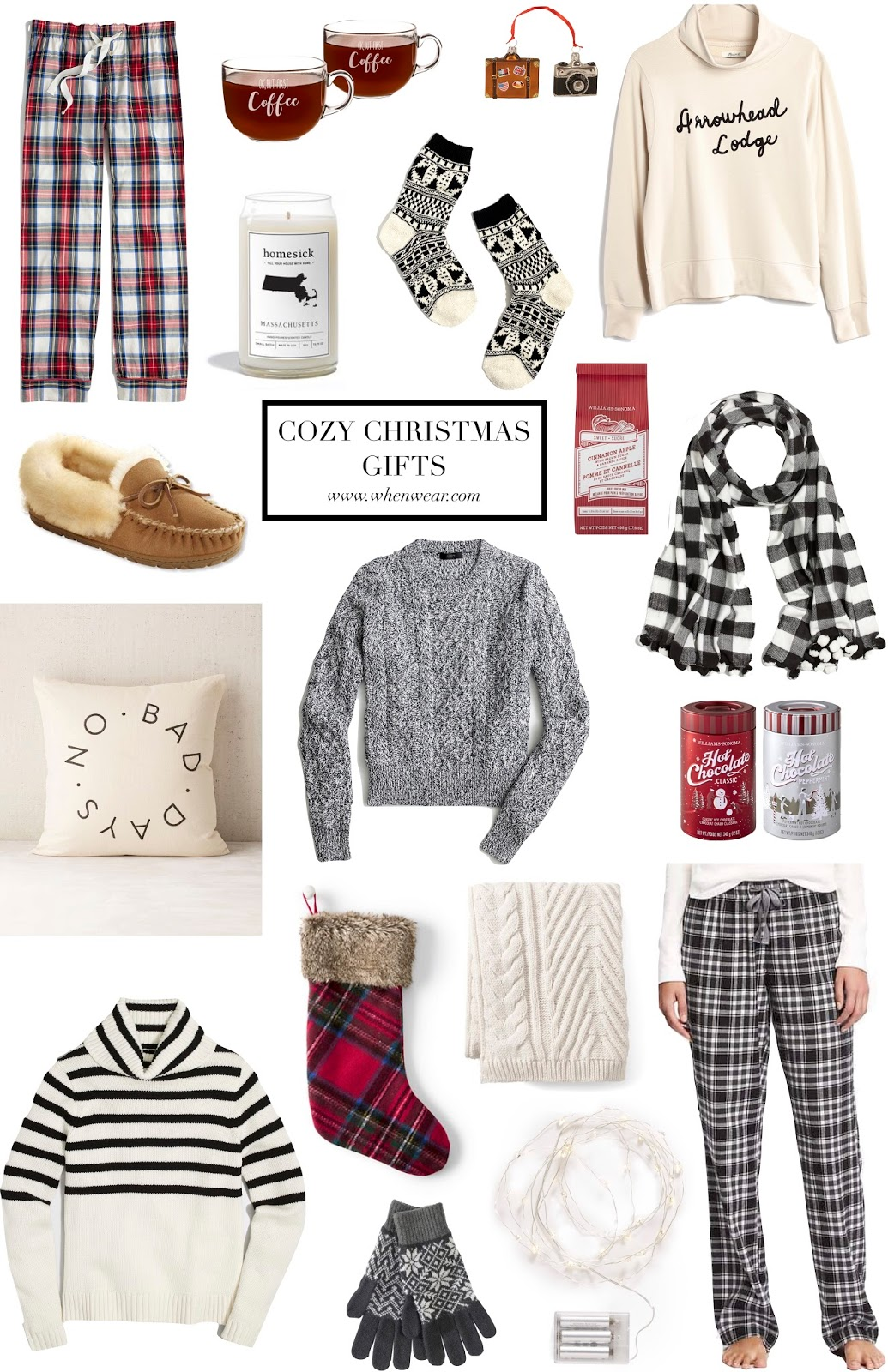 Cozy Christmas Gifts • When & Wear