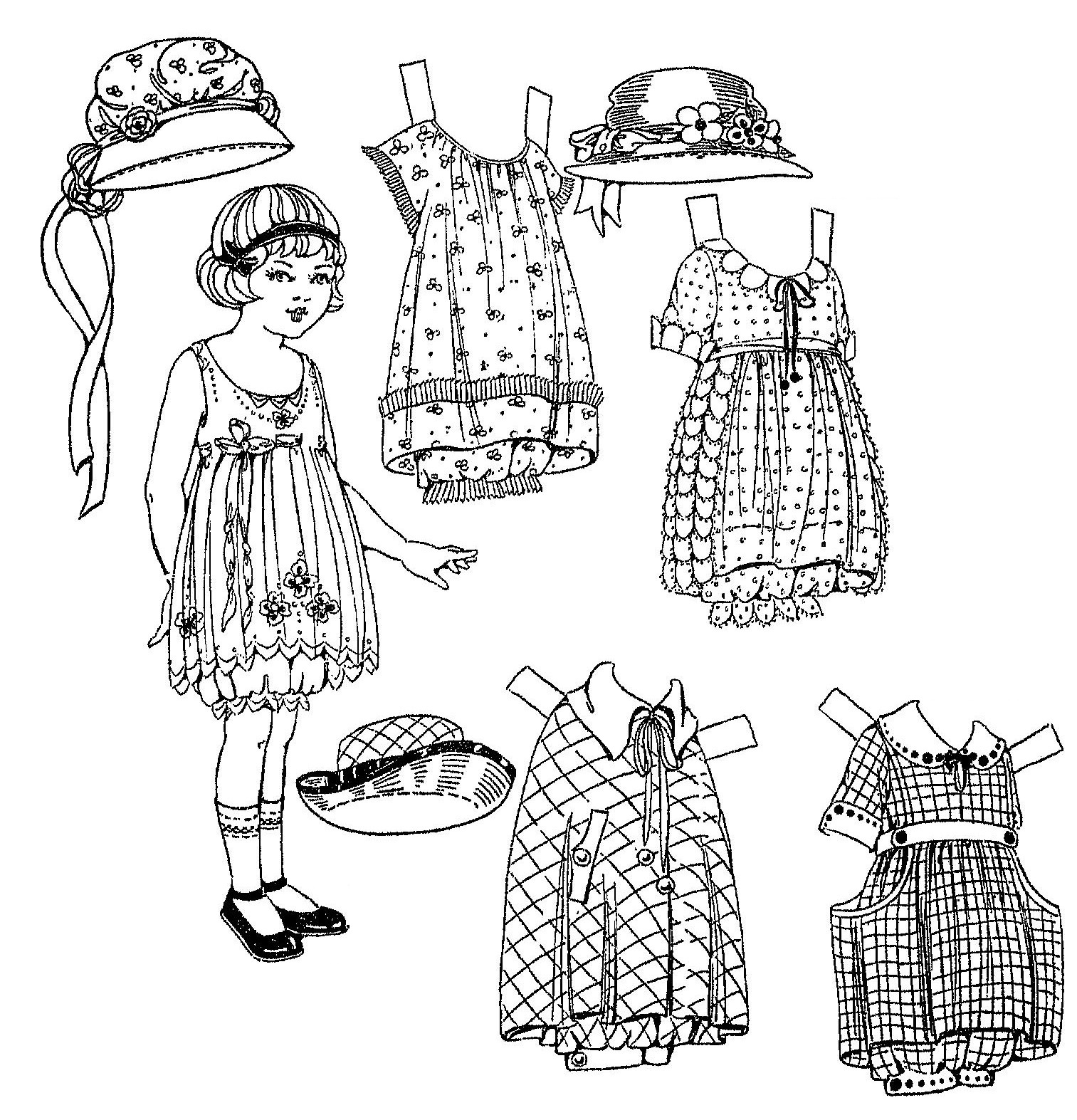 Mostly Paper Dolls Too!: AMANDA ADELINE, A Very Sweet