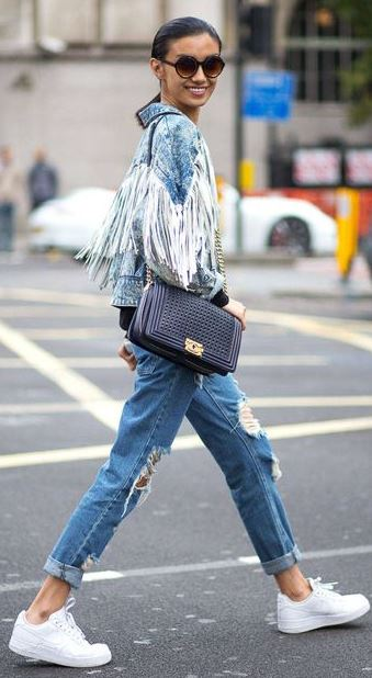 Street Style: 28 Fashions With Fringe