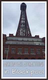 Merlin Pass attractions in Blackpool
