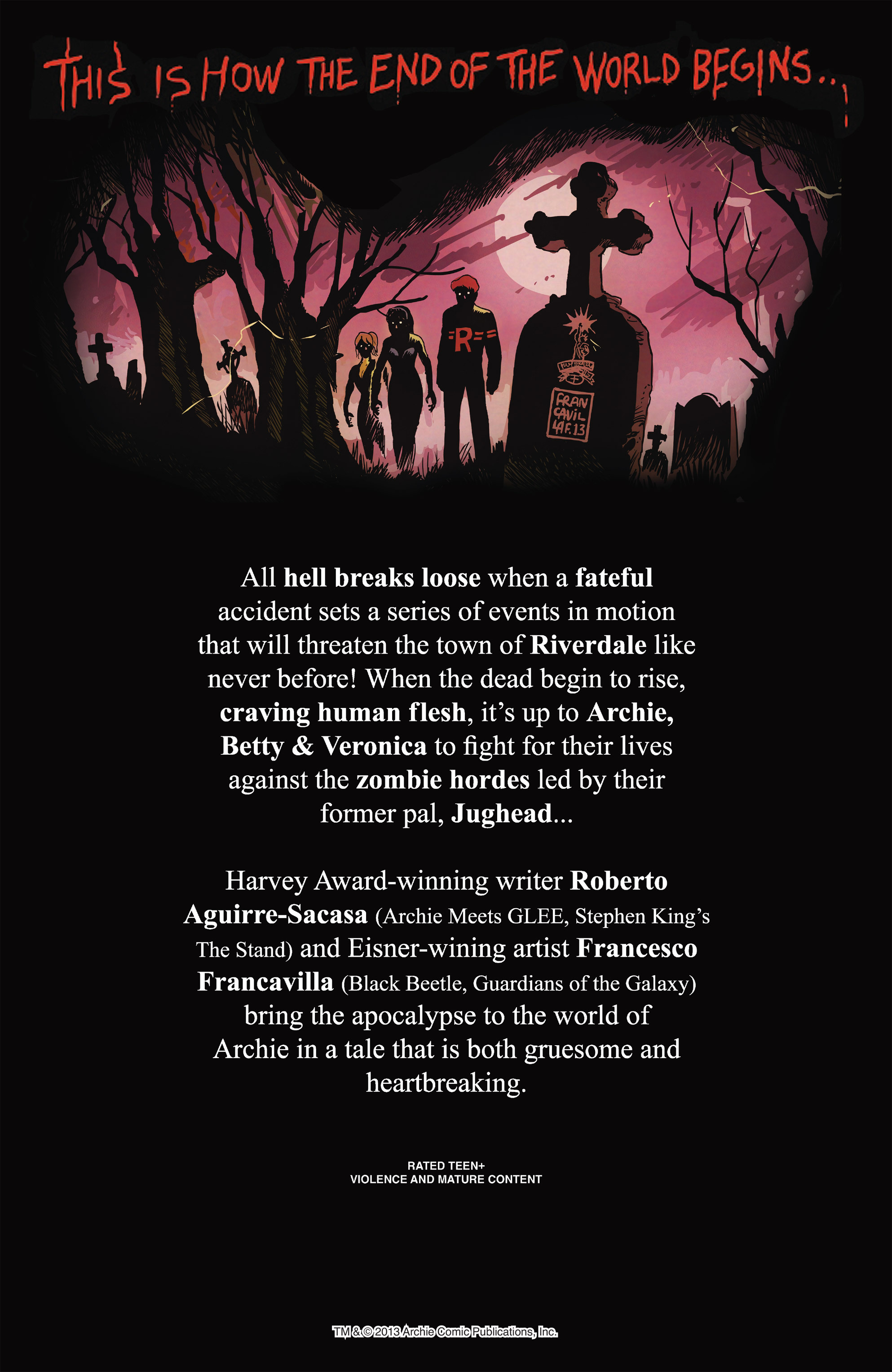 Read online Afterlife with Archie comic -  Issue #1 - 32