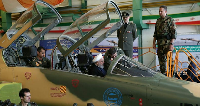 Iran memperkenalkan kowsar jet tempur domestik baru