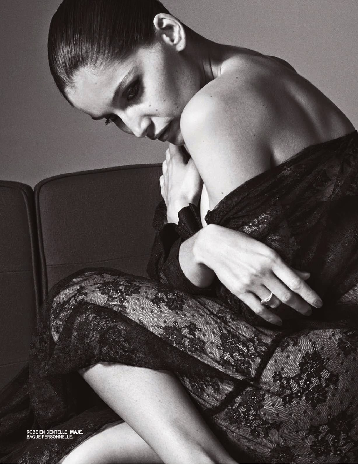 Laetitia Casta - Lui Magazine's December 2014 issue