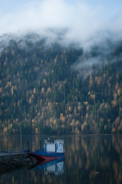 Lacul Teletskoye, Altai
