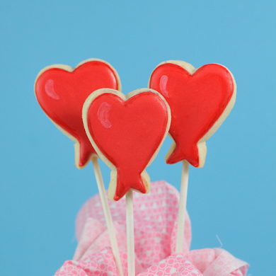 DIY Heart Balloon Cookies Recipe