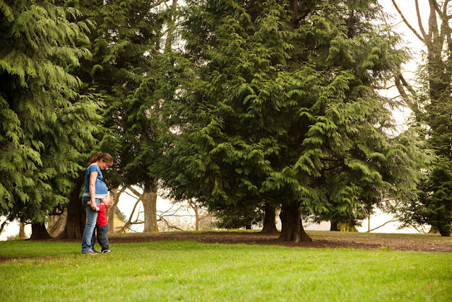 photo of a mother and toddler outdoors