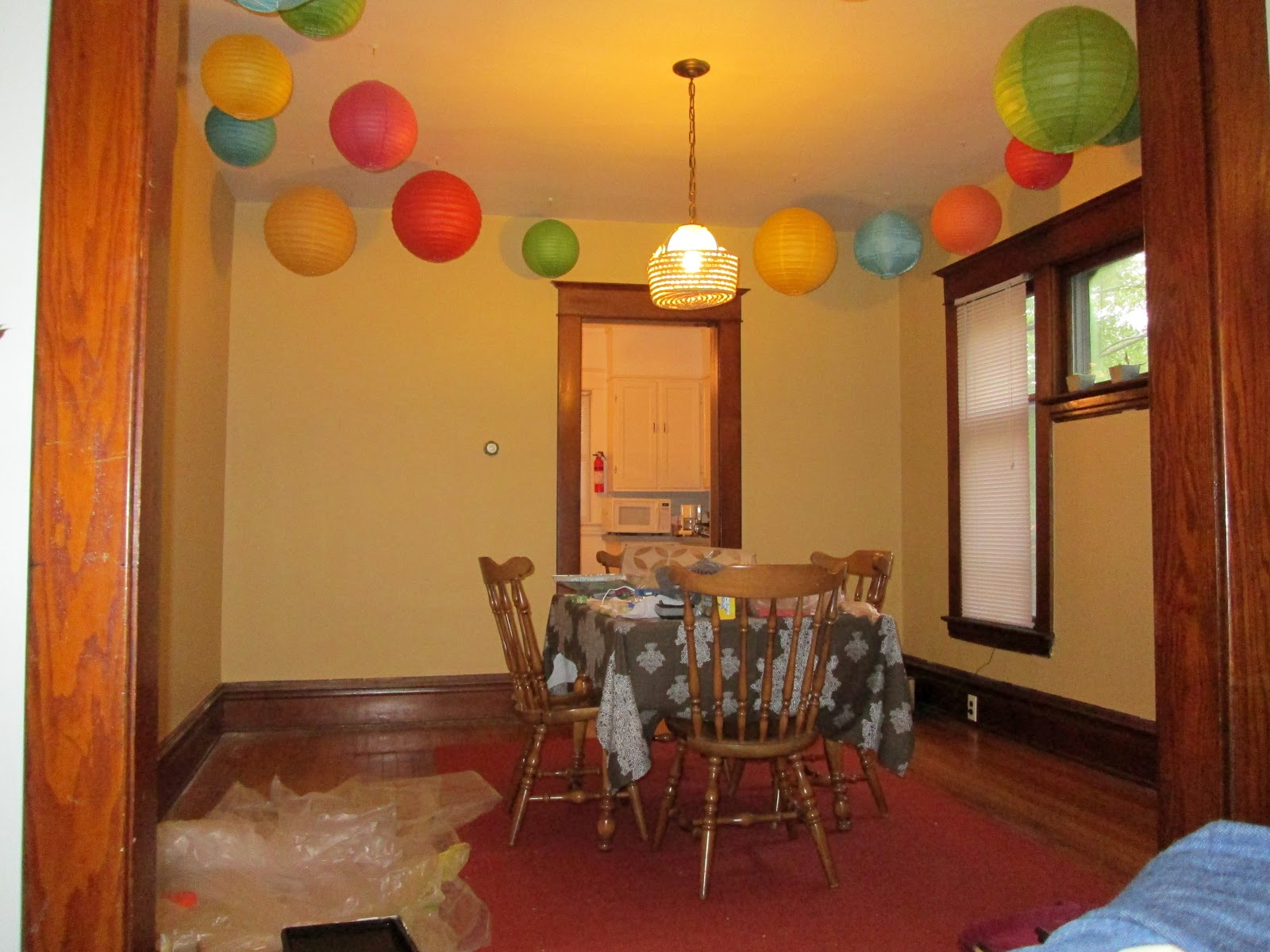 Cozy Dining Space: Making Home From Scratch: Interrogation Room To Cozy