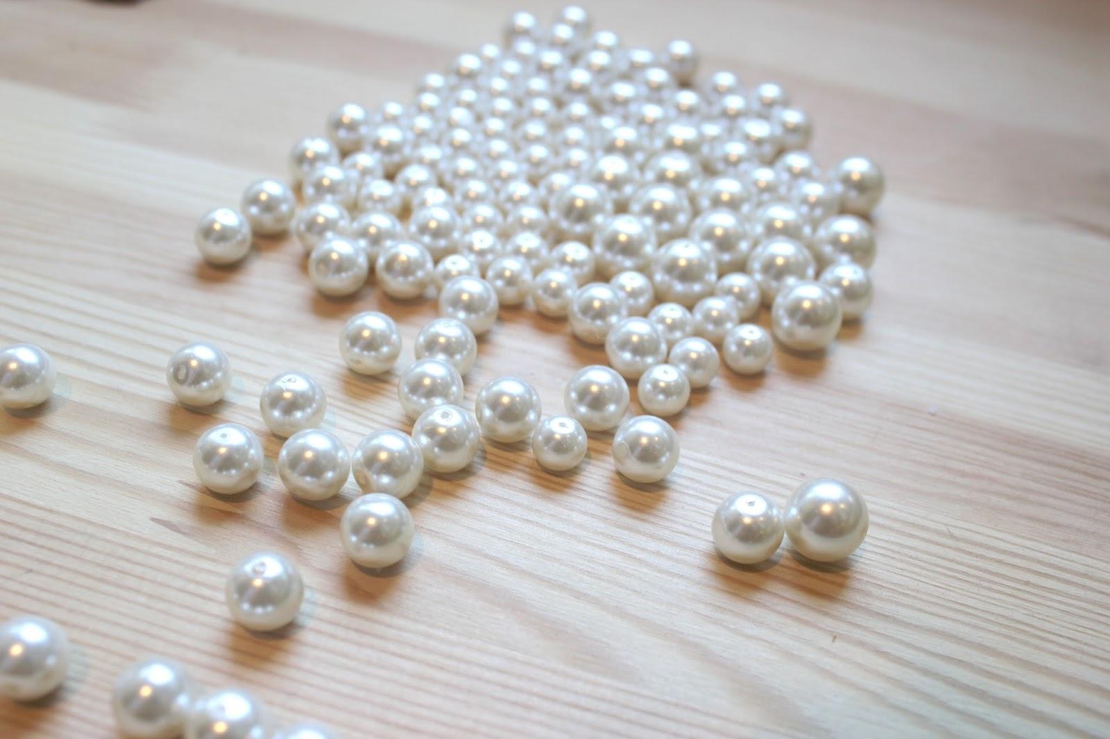38f2131af817 DIY Collar de perlas y piedras Swarovski - HANDBOX