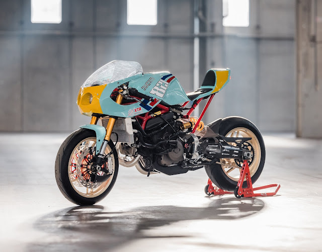 Ducati Monster 821 2016 By XTR Pepo Hell Kustom