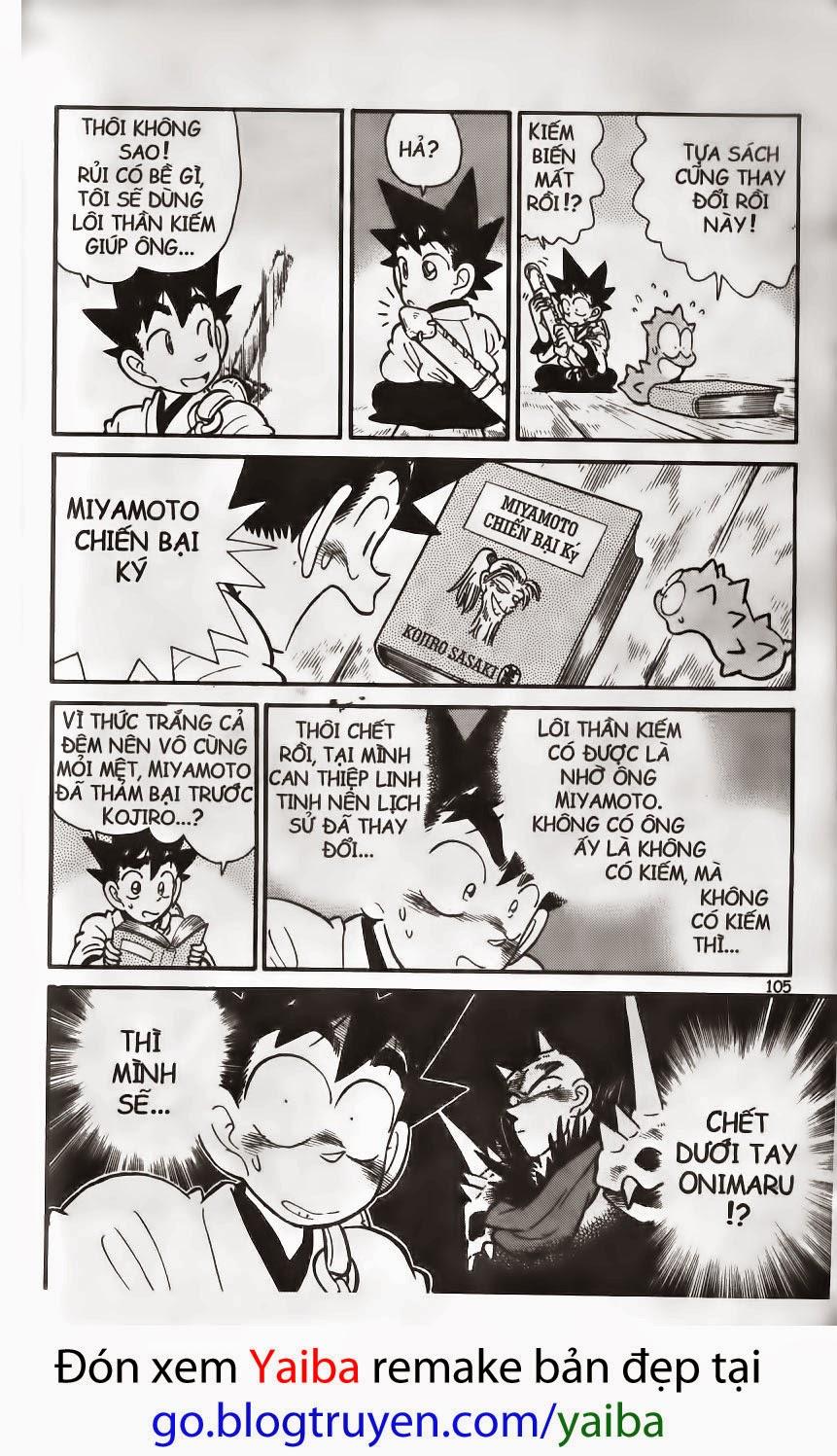 Yaiba chap 171 trang 14