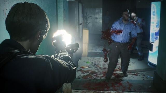 لنشاهد أول اللقطات من طريقة اللعب في Resident Evil 2 و أجواء الرعب رهيبة جدا …
