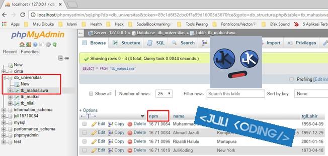 Cara Koneksi Database Mysql Ke Delphi 7 Dan Buat Form Crud - Serba