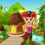 Games4King Cute Pirate Girl Rescue