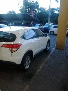 Honda Margajaya , Tersedia Mobil Honda HRV Berwarna Putih