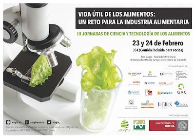 III Jornadas de Ciencia y Tecnología de Alimentos. Vida útil de los alimentos.