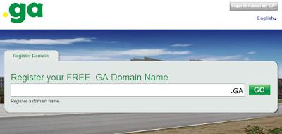 Бесплатный домен .ga